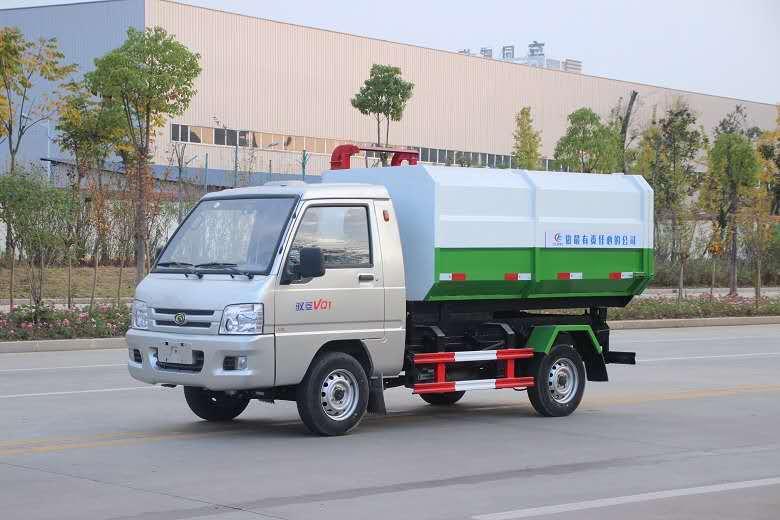 福田驭菱挂桶垃圾车/3方CLW5031ZZZB5