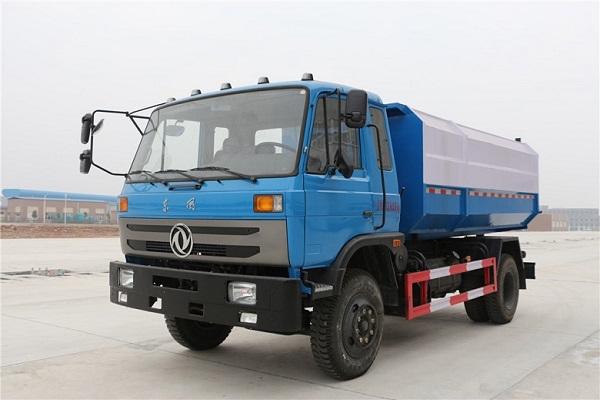 东风145挂桶垃圾车/12方CLW5165ZZZD5